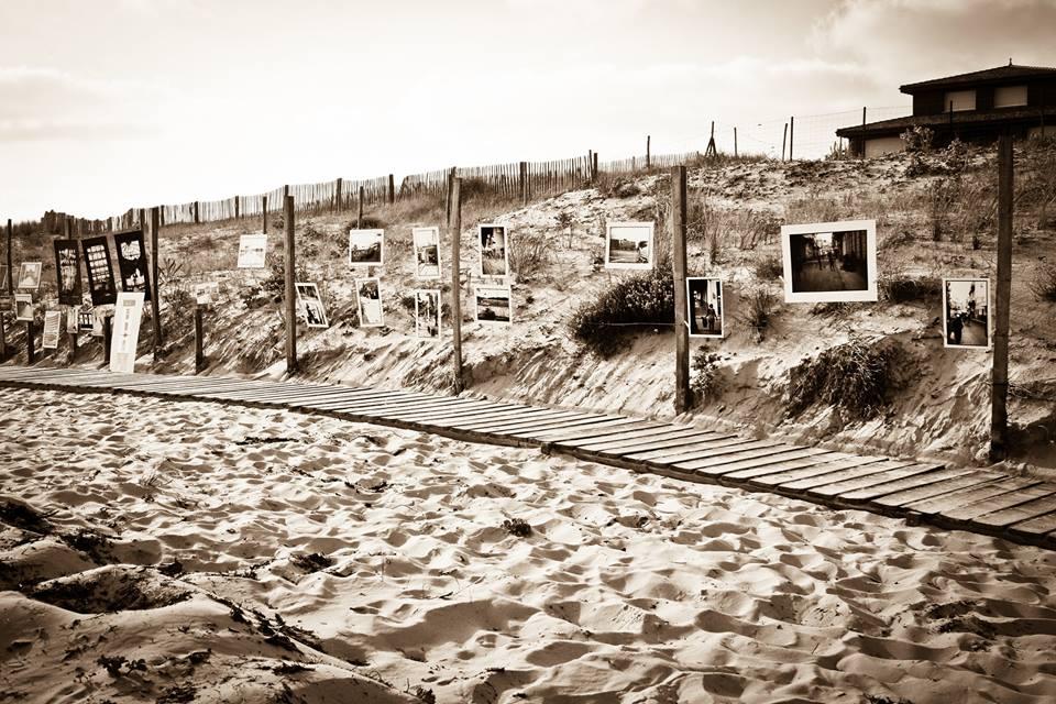 expo plage Contis 2015 photo: Magali Poivert