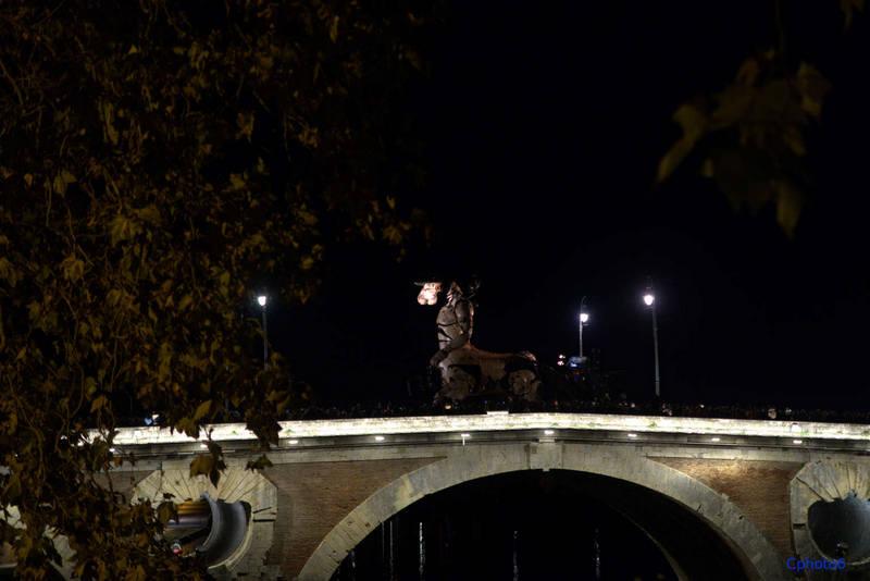 le minotaure sur le pont neuf toulouse