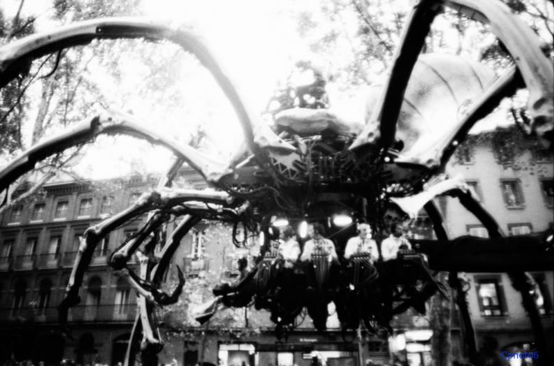 l'araignée à toulouse La machine Royal deluxe
